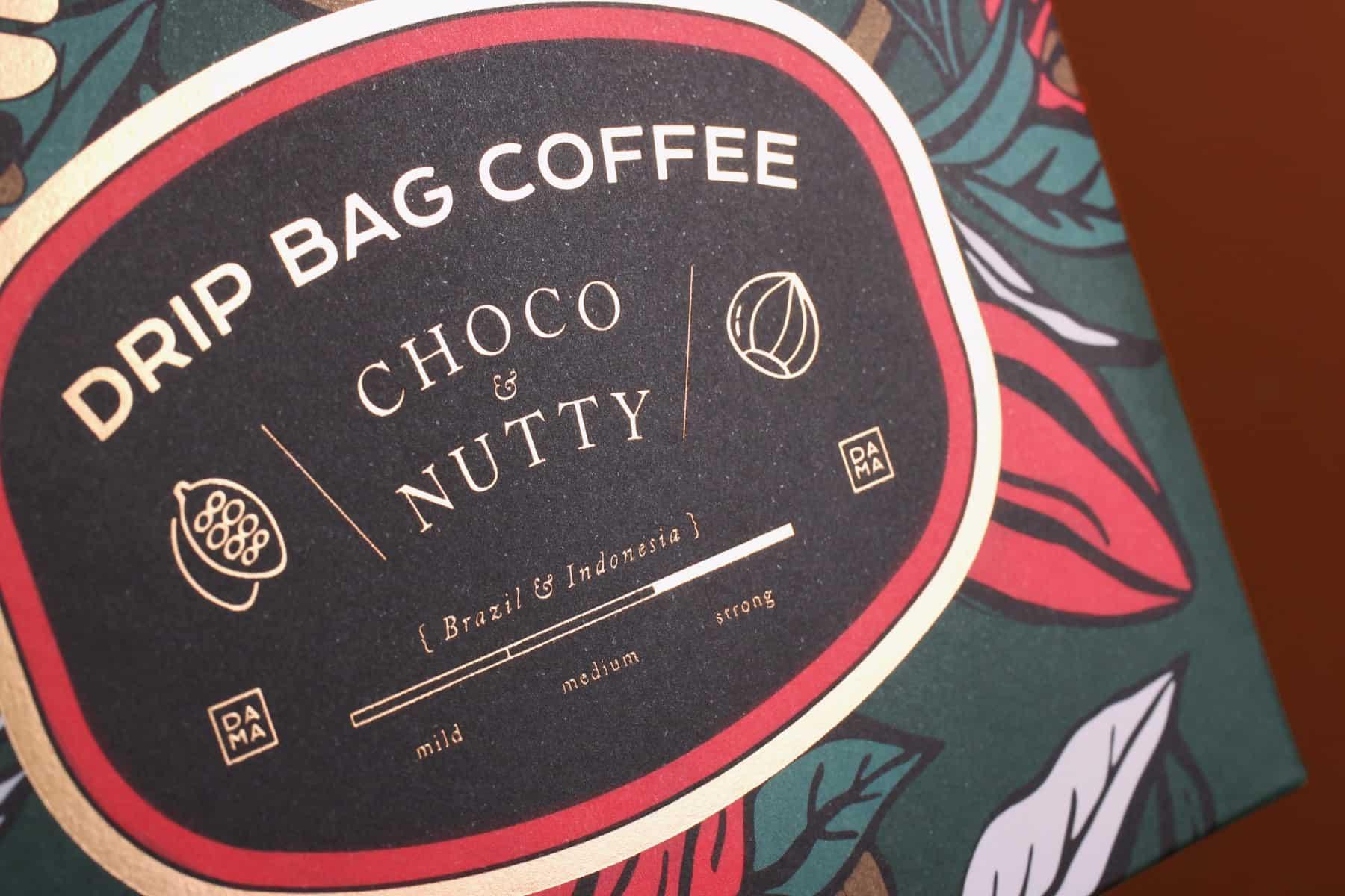 DAMA 滴濾咖啡包裝設計