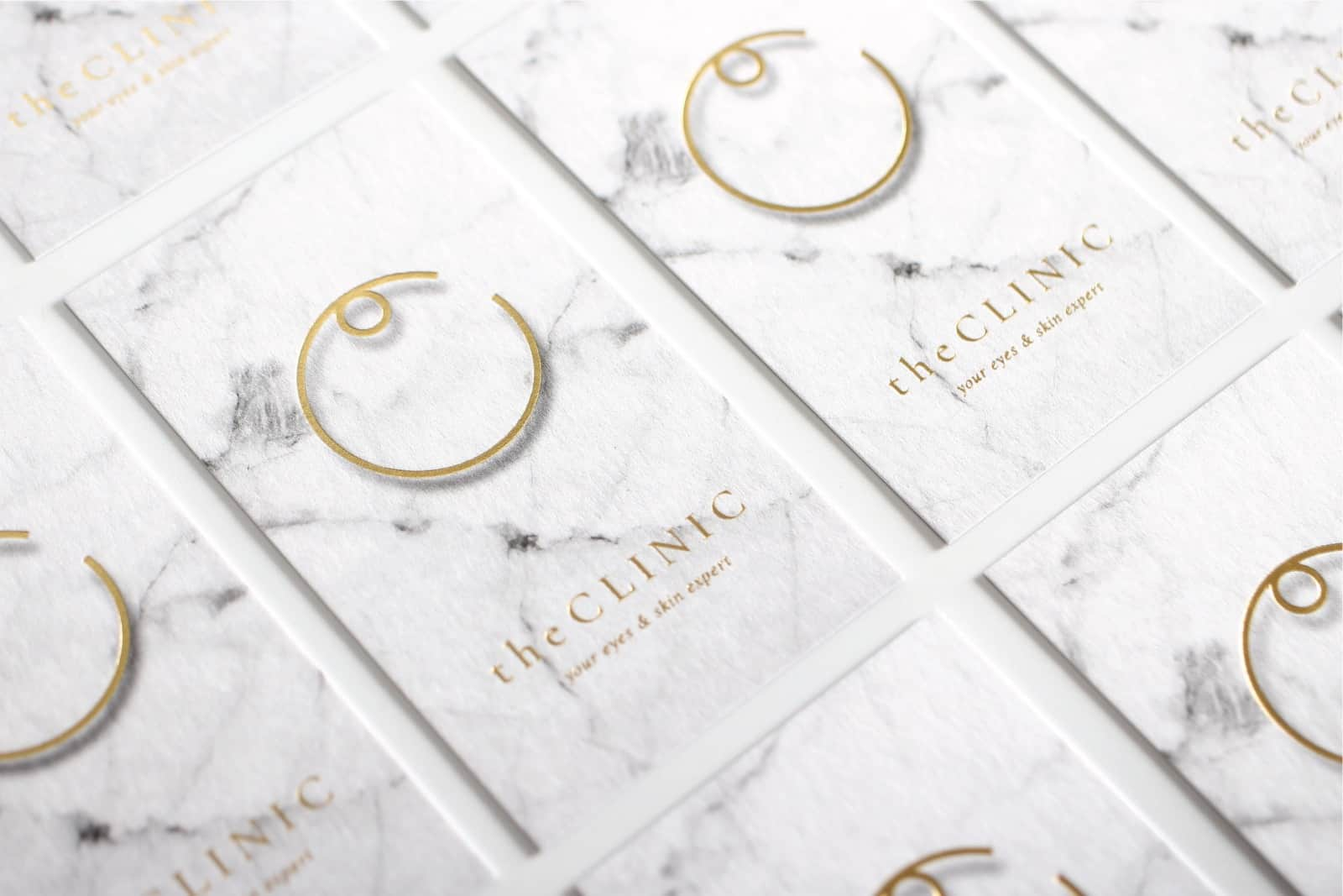 the Clinic   believes beauty comes naturally at any age   Branding design