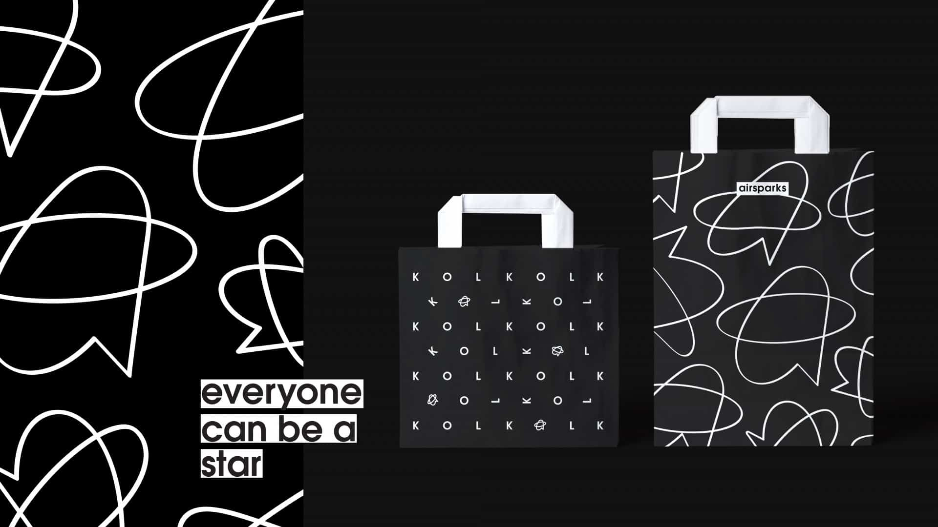airsparks | everyone can be a star | Branding design
