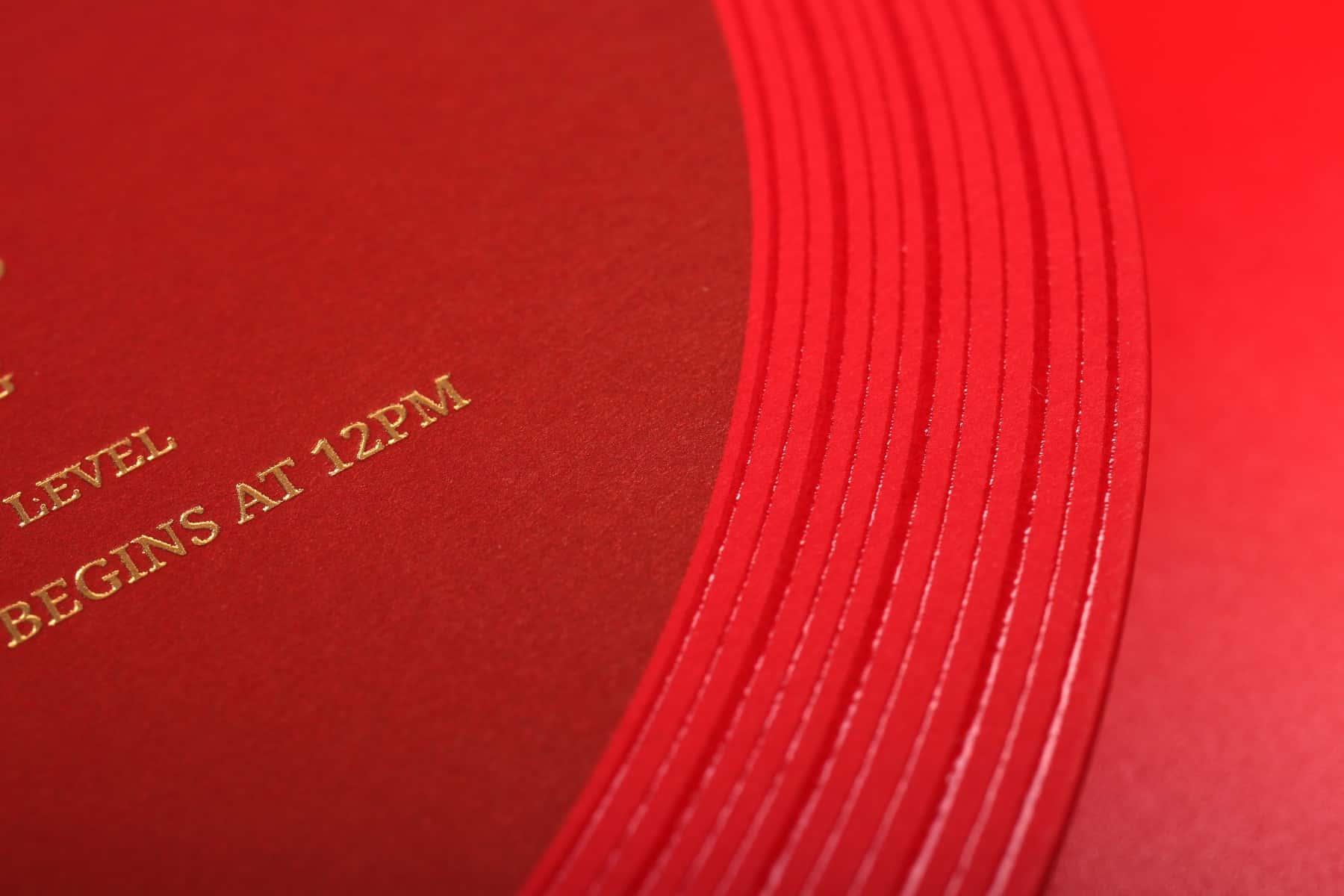 Ceci & Leon Wedding Invitation card design