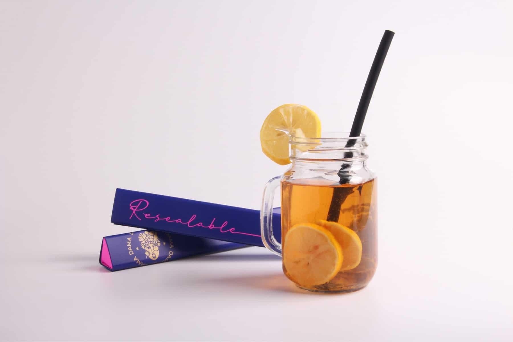 DAMA Resealable Silicone Straw