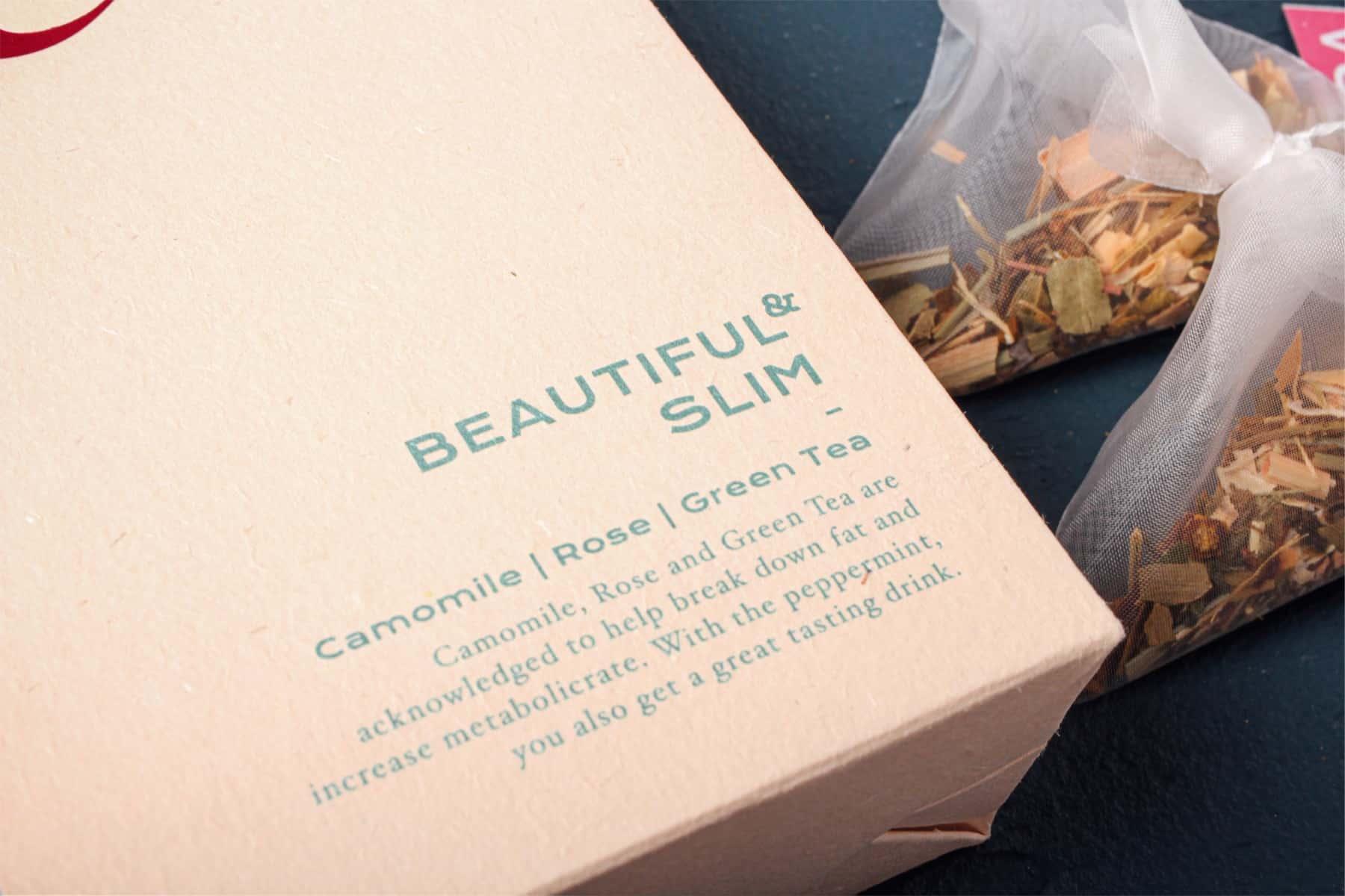 DAMA Tea Package Design