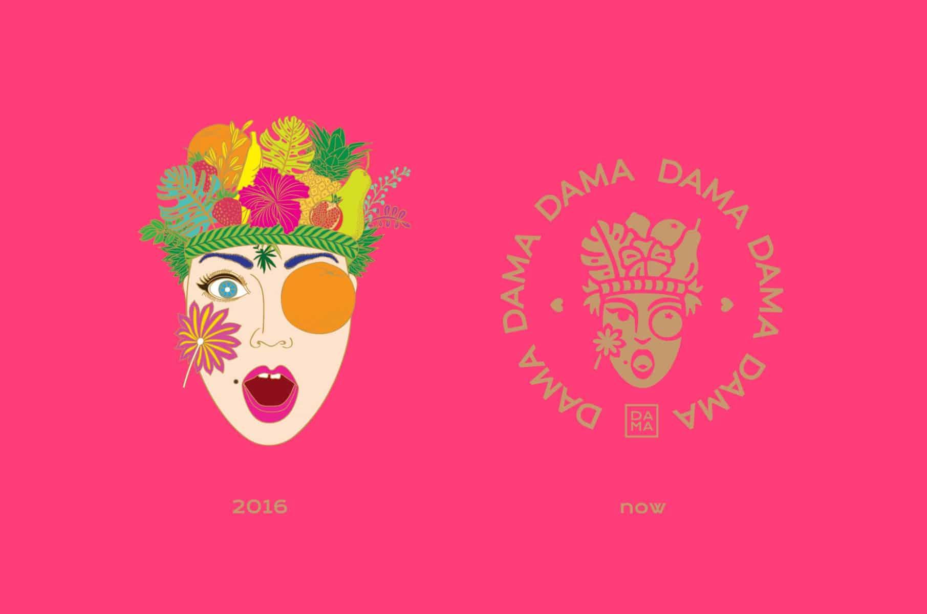 DAMA 素食餐廳 @ K11 Musea   品牌設計