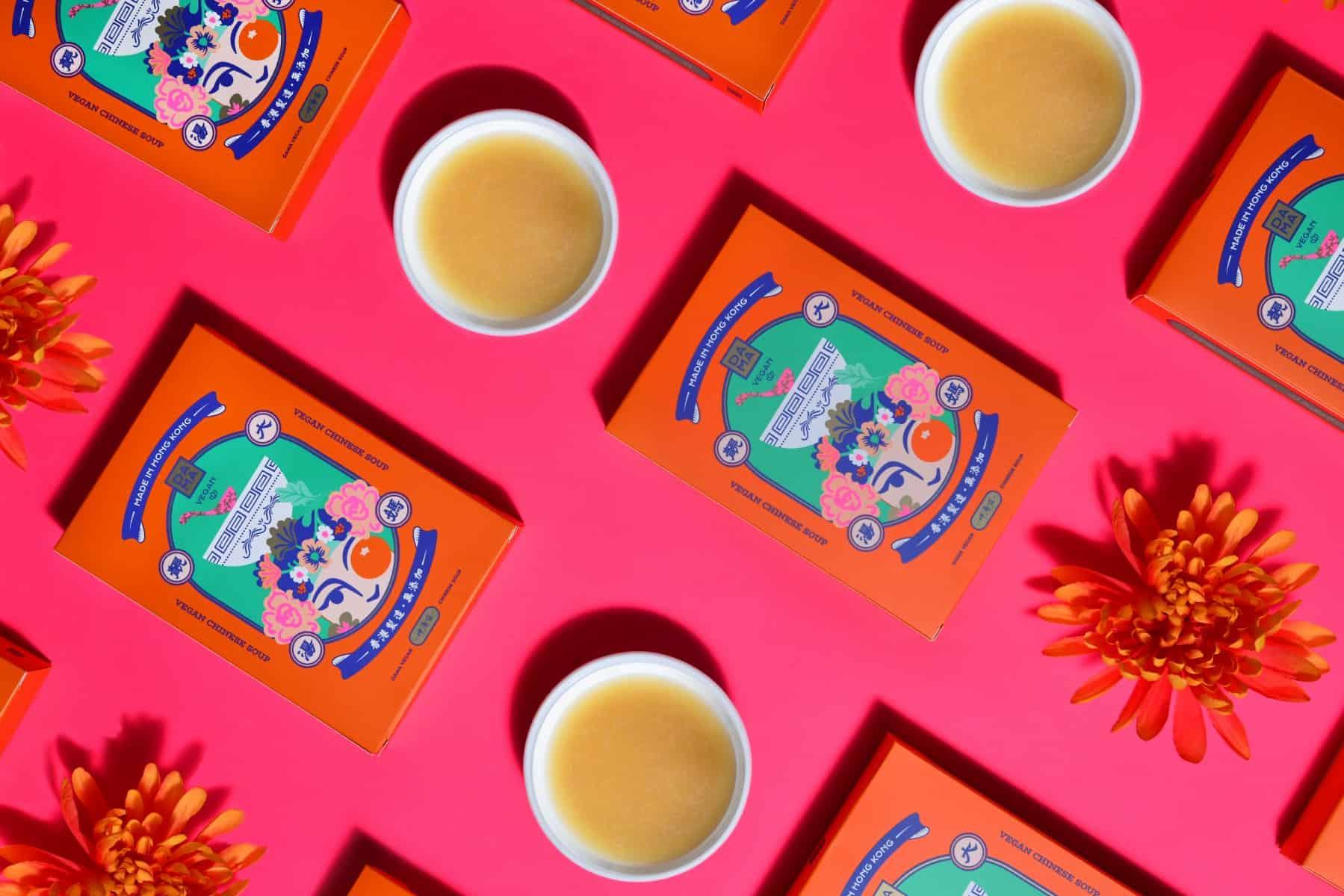 DAMA Vegan Soup | Package Design