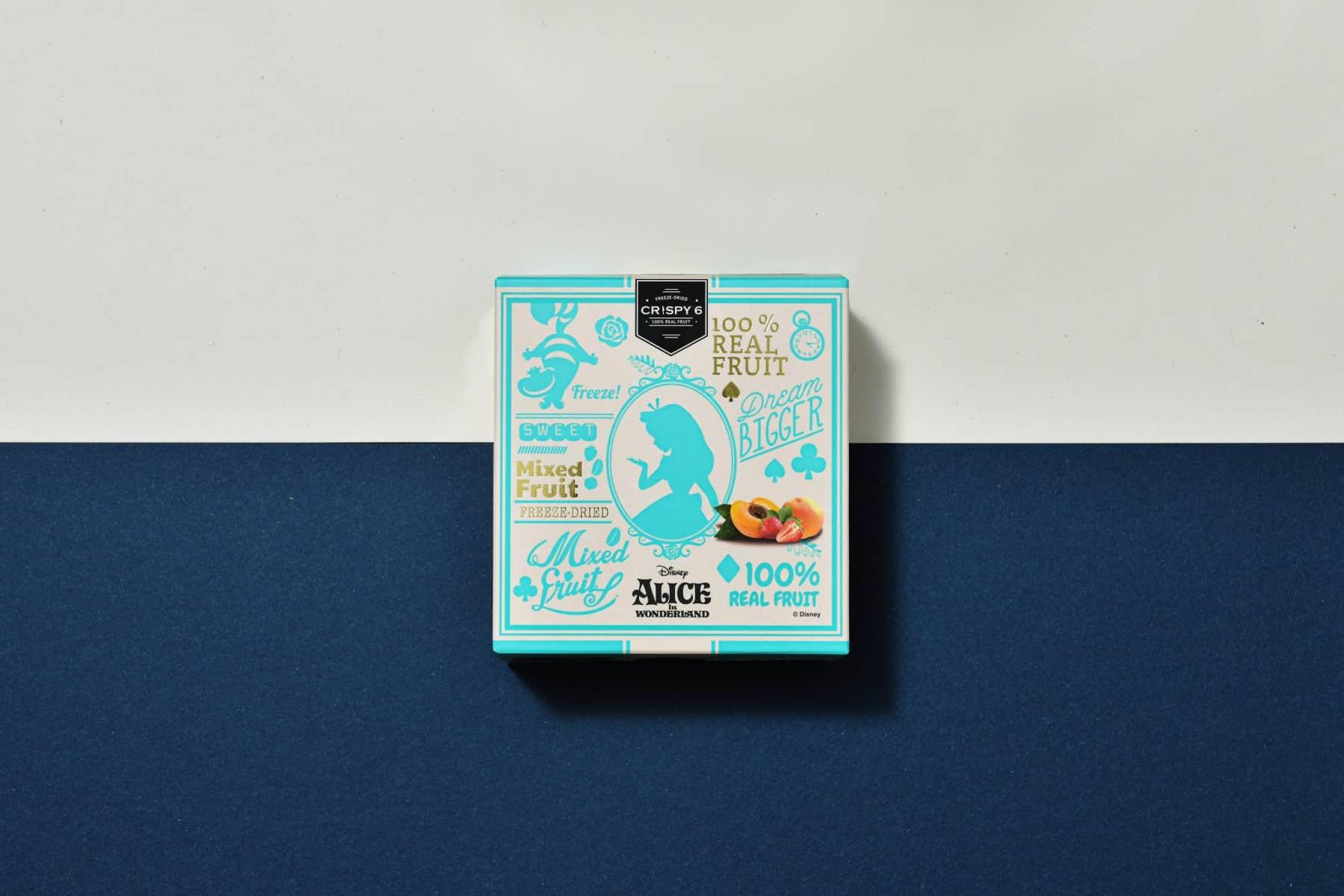 CRISPY 6 凍乾水果包裝設計