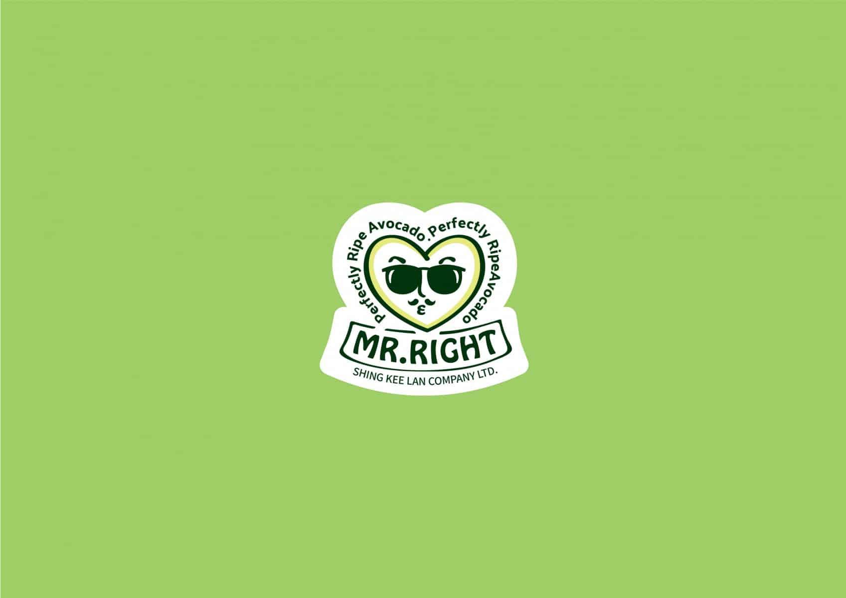 Mr. Right | Perfectly Ripe Avocado | Branding design