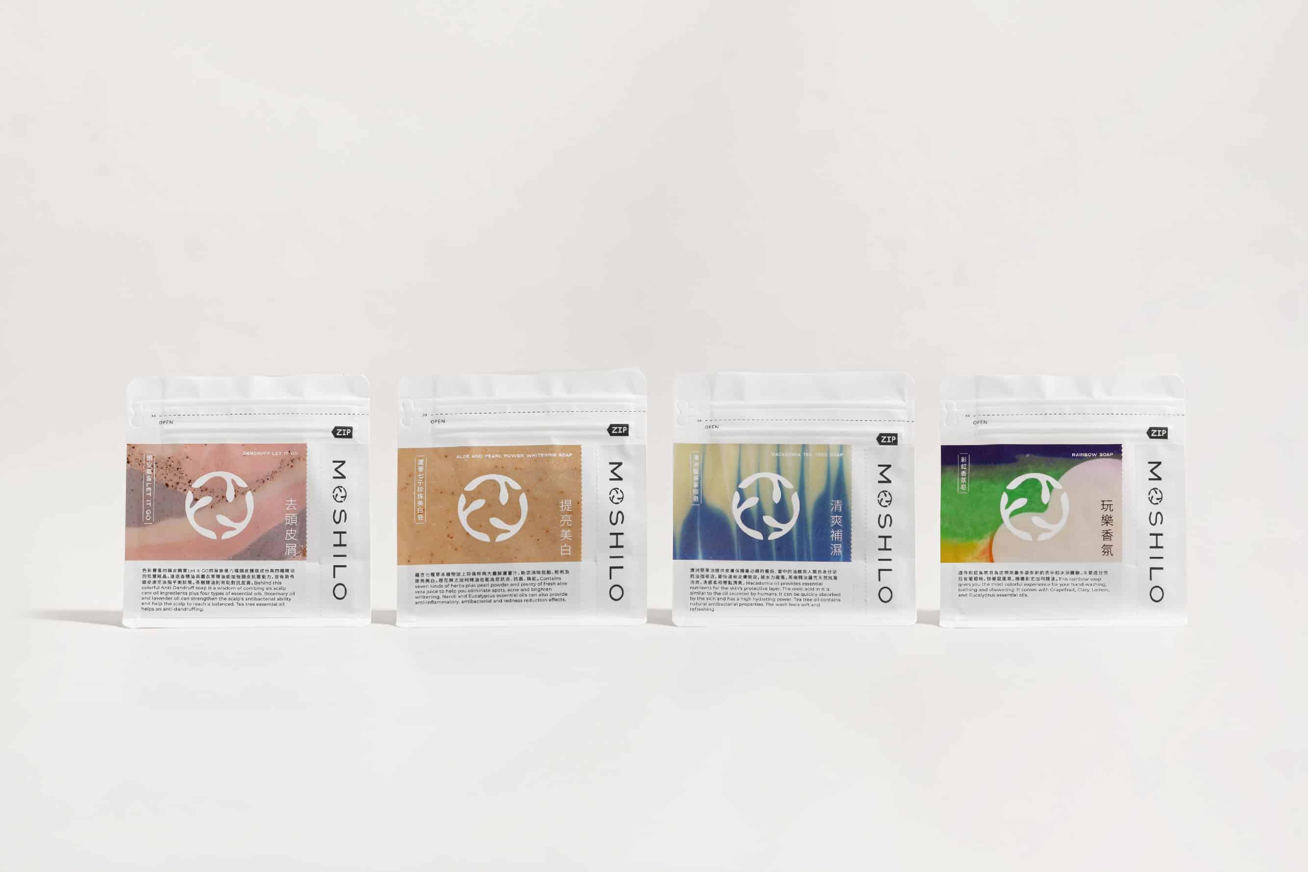 MOSHILO handmade soap | Branding design