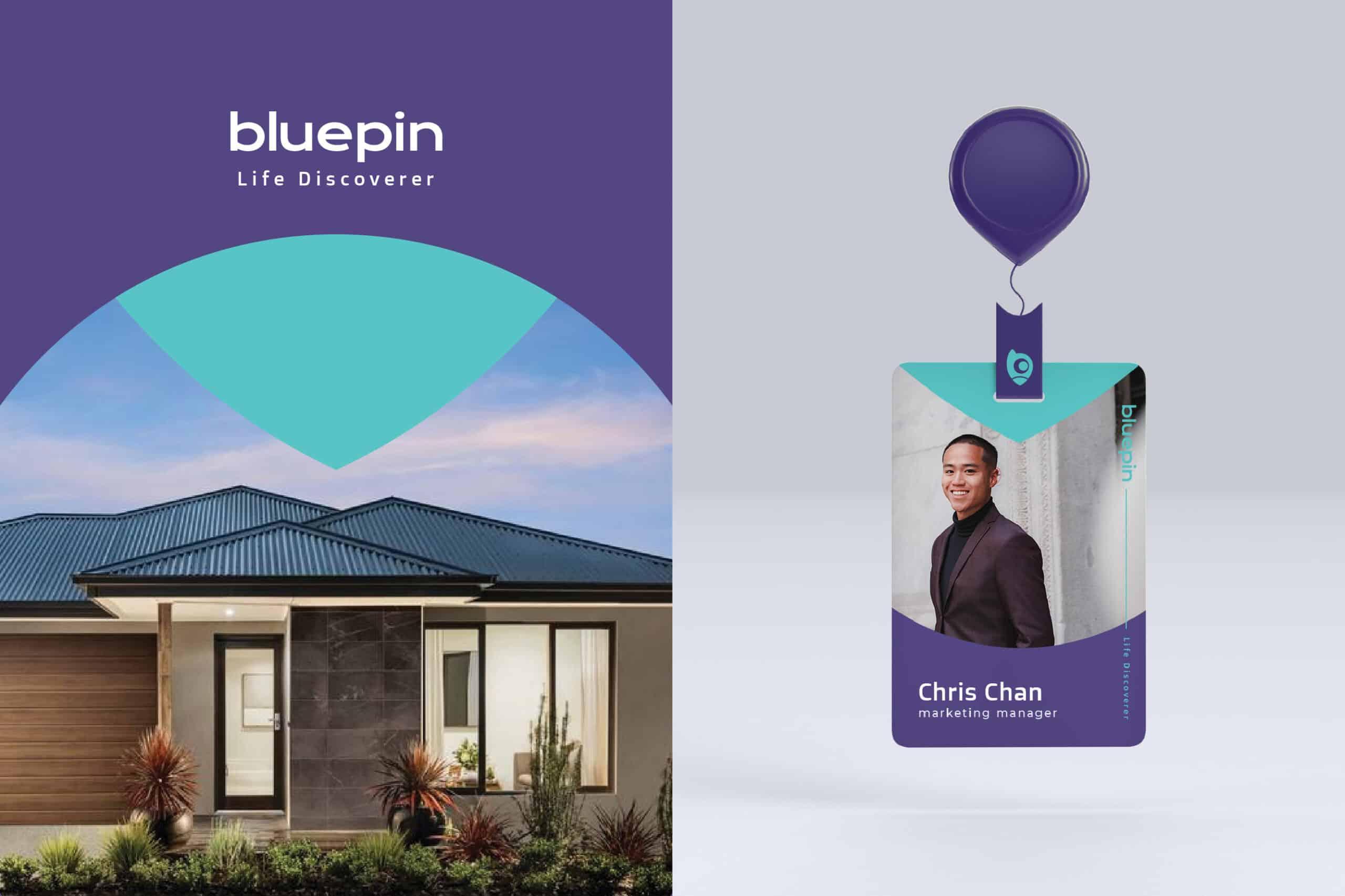 Bluepin | Branding design