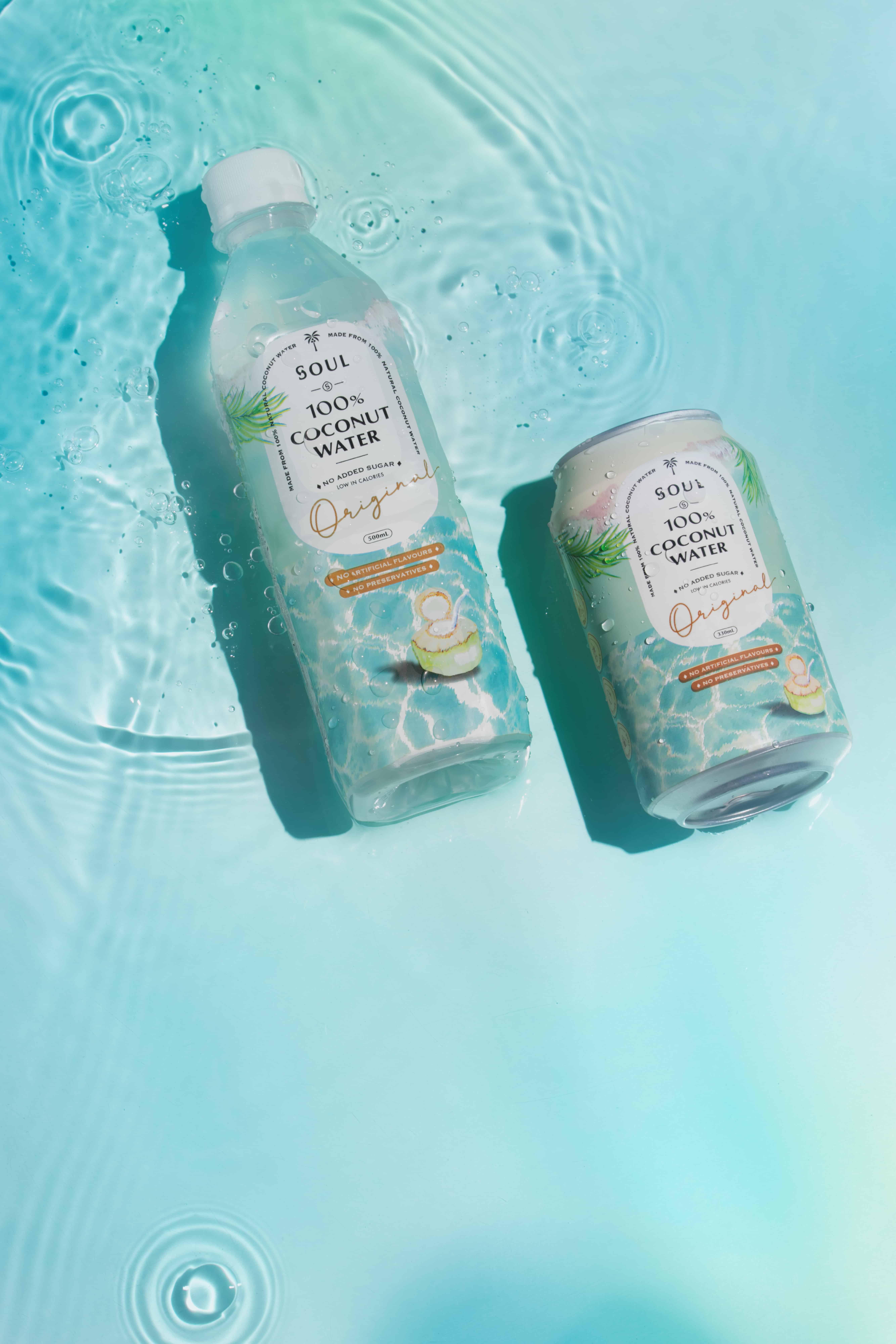SOUL 100%椰子水   品牌設計及包裝設計