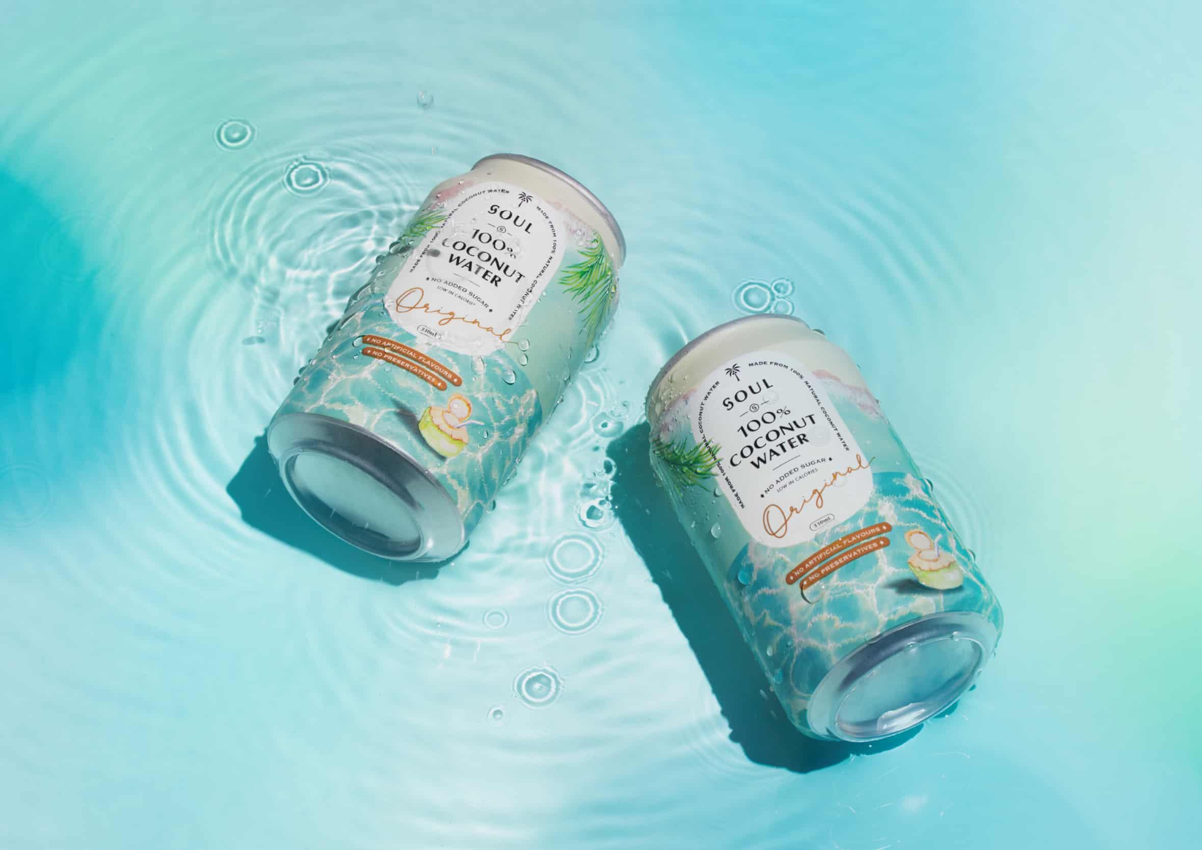 SOUL 100%椰子水 | 品牌設計及包裝設計