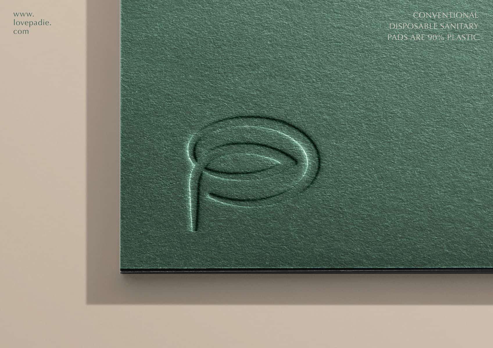 Padie - 可分解衛生巾 | 品牌設計及包裝設計